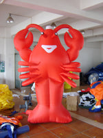 20ft (6M) Advertising Giant Inflatable Lobster Restaurant Promotion; NO Blower