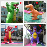 25ft (7.6M) Inflatable Advertising Giant Monsters Dinosaur /4 color options