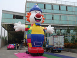 20ft (6M) Advertising Promotional Giant Inflatable Charlie the Clown; NO Blower