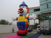 20ft (6M) Advertising Promotional Giant Inflatable Charlie the Clown Free Blower