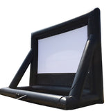 20x12ft Professional Inflatable Movie Screen No Wrinkle Outdoor Cinema;NO Blower