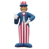 26ft (8M) Giant Inflatable Uncle Sam for Promotion, Holiday, US Memorial Day; NO BLOWER
