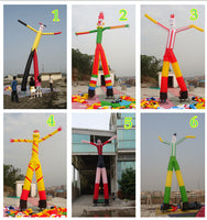 22ft (7M) Inflatable Tube Restaurant Store Promotion Car Sales 2-legs Puppet; Custom Style
