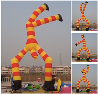 22ft (7M) Inflatable Clown Restaurant Store Promotion Car Sales 2-legs Inverted Puppet