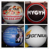 4ft 1.2meter Inflatable Advertising Balloon/INDOOR Promotion Party Balloons/freeLogo