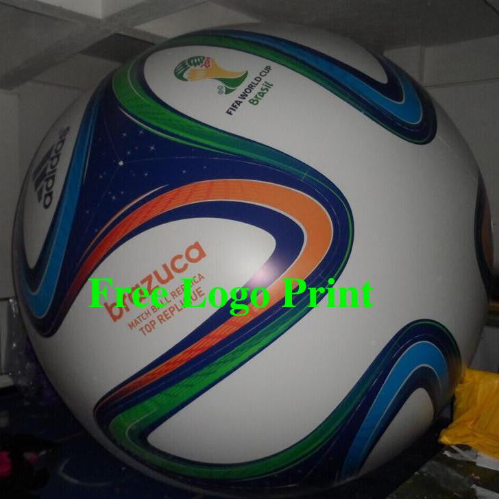 Air-Ads 11ft 3.3m Giant Advertising Inflatable Football Balloon Excellent Print/Free Logo print (PVC)