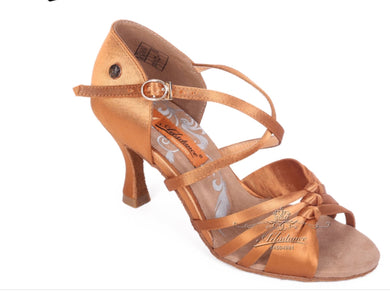 A2237 SATIN Women Latin Dancing Shoes (Ads)