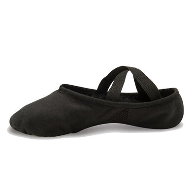 381 DANSHUZ ADULT LEATHER STRETCH SPLIT SOLE BALLET