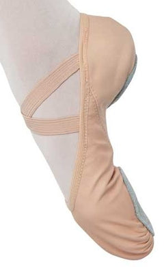 398 DANSHUZ ADULT LEATHER STRETCH SPLIT SOLE BALLET