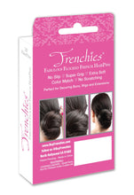 Frenchies Ultra Flocked HairPins Red