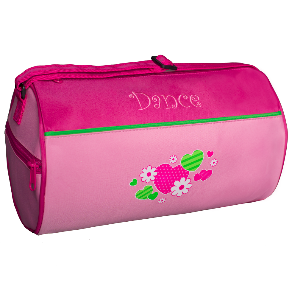 HNF-02 Hearts & Flowers Dance Duffel