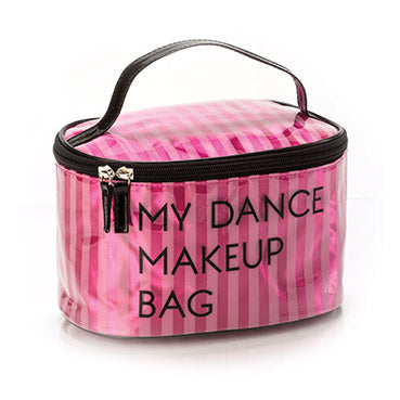 (YOFI) My Dance Makeup Bag Large (Black and Pink)