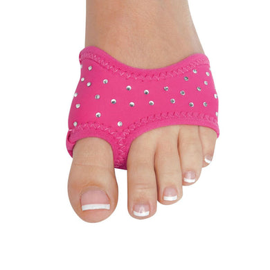 NEOPRENE SOLID COLOR HALF SOLE WITH RHINESTONES