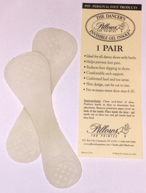 (PFP1) INVISIBLE GEL INSOLE