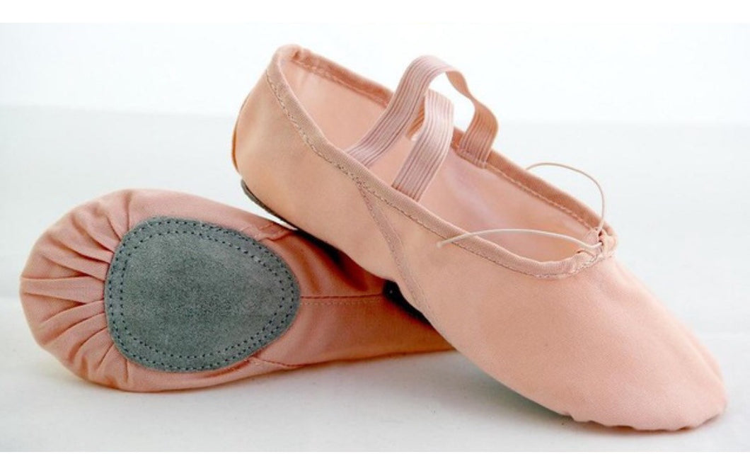 A7001  Adult Canvas Split-Sole Ballet Shoes by Energetic Dancewear