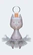 "DIV 84 Tulle Taffeta ""Cat"" Key Ring"
