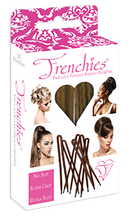 Frenchies Ultra Flocked HairPins Blond