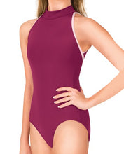 """Karolina"" Mock Neck Tank Leotard"