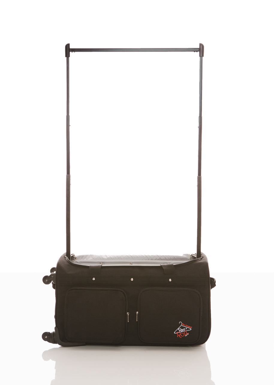 Medium Black 4x Dual Wheel Bag