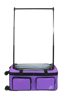 Medium Purple 4x Dual Wheel Bag