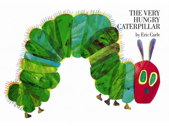 The image of The Very Hungry Caterpillar