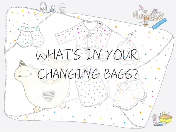 What's in your changing bags?