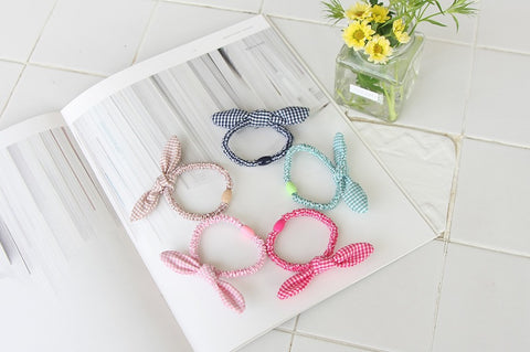 Bunny Hair Ties, Accessories - Little Pancakes