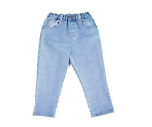 Gogo Denim Pants, Jeans - Little Pancakes