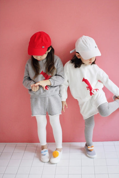 Lobster Sweatshirt, Jumpers&Sweatshirts, - Little Pancakes