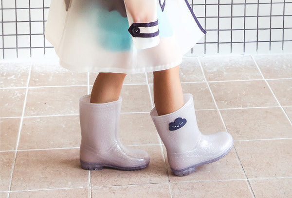Cloud Rain boots, Shoes - Little Pancakes