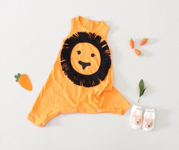 Lion Romper, Romper - Little Pancakes