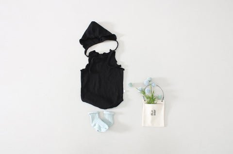 Summery Hat Romper, Romper - Little Pancakes