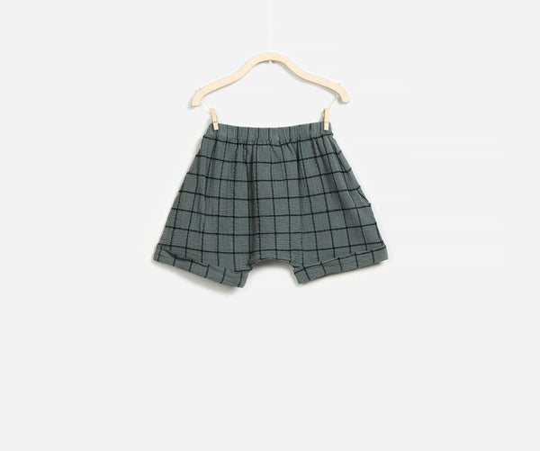 Adjustable Woven Shorts, Shorts - Little Pancakes