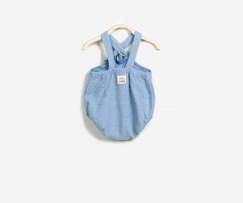 Cuteness Overload Dungaree Romper, Rompers - Little Pancakes