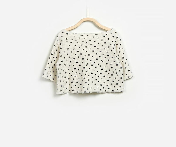 Cute Geometric Patterns Jumper, Jumpers - Little Pancakes