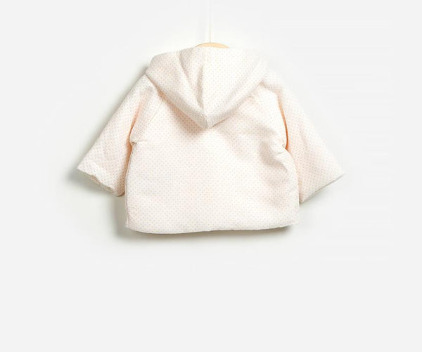 Gladiolus Woven Baby Girl Jacket, Jackets - Little Pancakes