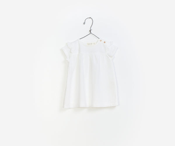 Frilled Baby Girl Dress, Dresses - Little Pancakes