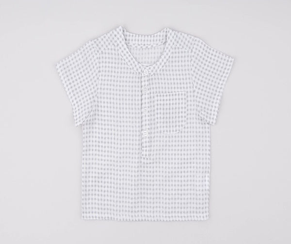 Biz Short Sleeve Shirt, Shirts - Little Pancakes