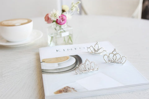 Tiara Hair Pins, Accessories - Little Pancakes