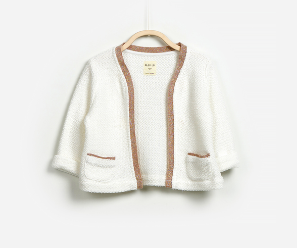 Classy Knitted Cardigan, Jackets - Little Pancakes