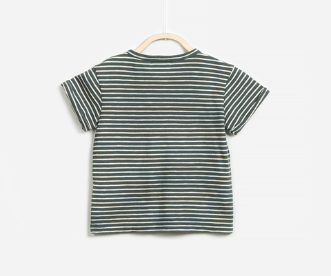 Green Marine T-Shirt, T-shirts - Little Pancakes
