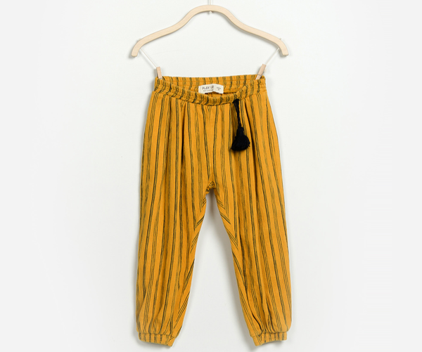 Striped pull-on trousers, Trousers - Little Pancakes
