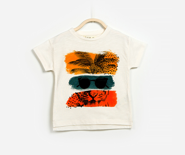 Cool In The Jungle T-Shirt, T-shirts - Little Pancakes