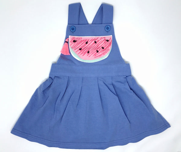 Watermelon Pinafore Dress, Dress - Little Pancakes