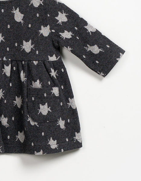 Little Kitten Dress, Dresses - Little Pancakes