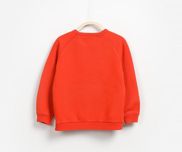 Pure Red Jumper, Jumpers - Little Pancakes