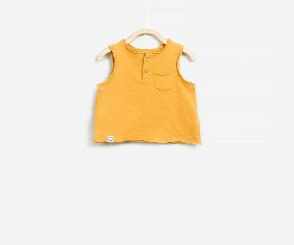 Warm Days Sleeveless Top, T-shirts - Little Pancakes