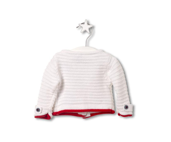 Classy Marine Cardigan for Baby Girls, Cardigans - Little Pancakes
