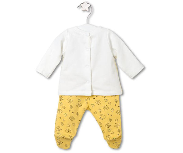Happy Bear Two- Piece Set, Sets - Little Pancakes