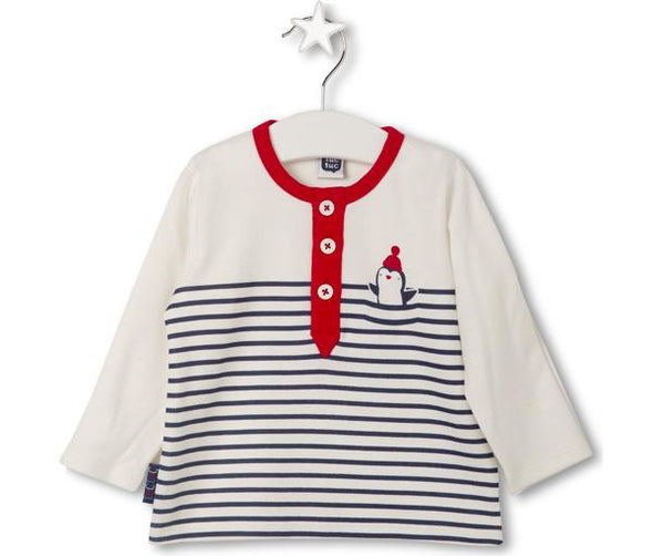 Little Penguin Polo Shirt, Shirts - Little Pancakes